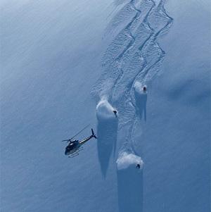 Have Aeroplan will Heli Ski